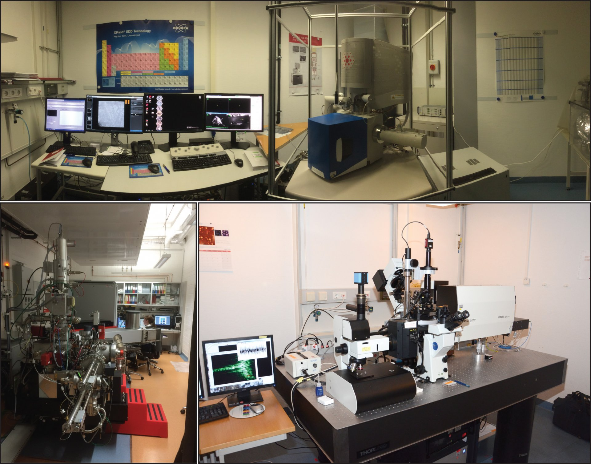 Instruments of the single-cell imaging facility