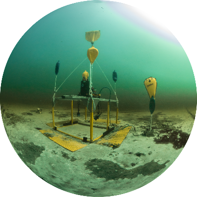 The HyperSub system deployed at the Middle Island Sinkhole to study processes in an early Earth analog.
