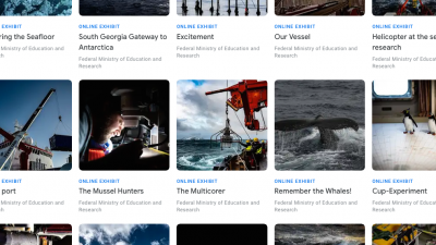More than 20 online exhibitions are available on the platform about expedition PS119. (from https://artsandculture.google.com/project/intothedeep)