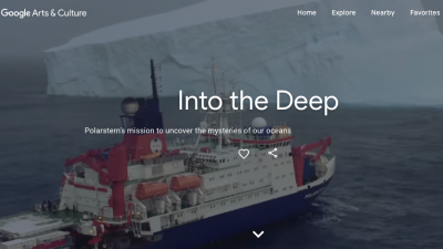 Into the deep - Polarstern's mission to uncover the mysteries of our oceans - Google arts and culture (Video: Google)